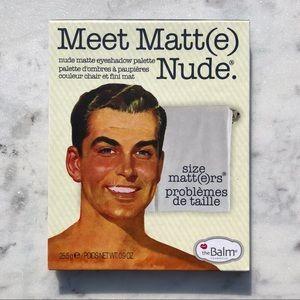 The Balm Meet Matt(e) Nude Eyeshadow Pallet
